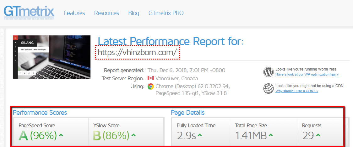 Proof Of SEO Work